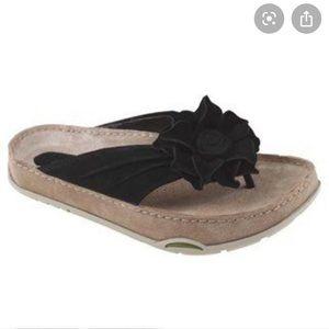 Kalso Earth Rose 2 black suede sandals
